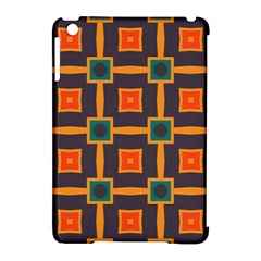 Connected Shapes In Retro Colors                         			apple Ipad Mini Hardshell Case (compatible With Smart Cover) by LalyLauraFLM