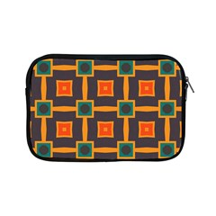 Connected Shapes In Retro Colors                         			apple Ipad Mini Zipper Case by LalyLauraFLM