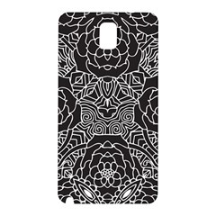 Solid Black Samsung Galaxy Note 3 N9005 Hardshell Back Case by Zandiepants