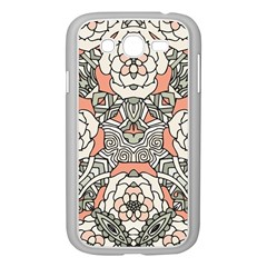 Petals In Vintage Pink, Bold Flower Design Samsung Galaxy Grand Duos I9082 Case (white) by Zandiepants