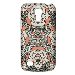 Petals In Vintage Pink, Bold Flower Design Samsung Galaxy S4 Mini (gt I9190) Hardshell Case  by Zandiepants