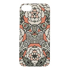 Petals In Vintage Pink, Bold Flower Design Apple Iphone 5s/ Se Hardshell Case by Zandiepants