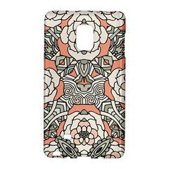 Petals In Vintage Pink, Bold Flower Design Samsung Galaxy Note Edge Hardshell Case by Zandiepants