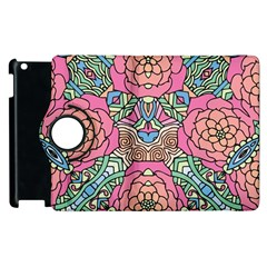 Petals, Carnival, Bold Flower Design Apple Ipad 2 Flip 360 Case by Zandiepants