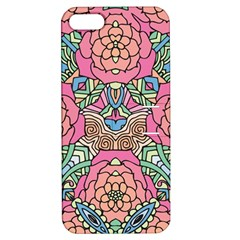 Petals, Carnival, Bold Flower Design Apple Iphone 5 Hardshell Case With Stand by Zandiepants