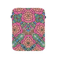 Petals, Carnival, Bold Flower Design Apple Ipad 2/3/4 Protective Soft Case by Zandiepants