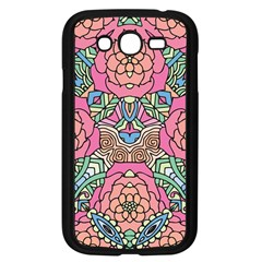 Petals, Carnival, Bold Flower Design Samsung Galaxy Grand Duos I9082 Case (black) by Zandiepants