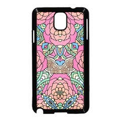 Petals, Carnival, Bold Flower Design Samsung Galaxy Note 3 Neo Hardshell Case (black) by Zandiepants