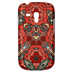Petals In Pale Rose, Bold Flower Design Samsung Galaxy S3 Mini I8190 Hardshell Case by Zandiepants
