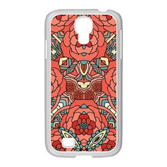 Petals In Pale Rose, Bold Flower Design Samsung Galaxy S4 I9500/ I9505 Case (white) by Zandiepants