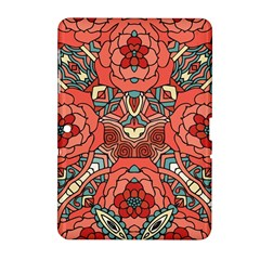 Petals In Pale Rose, Bold Flower Design Samsung Galaxy Tab 2 (10 1 ) P5100 Hardshell Case