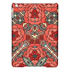 Petals In Pale Rose, Bold Flower Design Apple Ipad Air Hardshell Case by Zandiepants