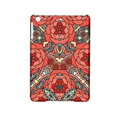 Petals In Pale Rose, Bold Flower Design Apple Ipad Mini 2 Hardshell Case by Zandiepants