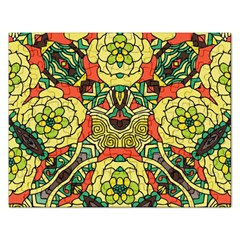 Petals, Retro Yellow, Bold Flower Design Jigsaw Puzzle (rectangular) by Zandiepants