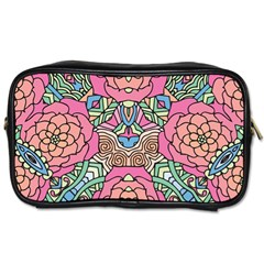 Petals, Carnival, Bold Flower Design Toiletries Bag (two Sides) by Zandiepants