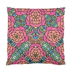 Petals, Carnival, Bold Flower Design Standard Cushion Case (two Sides) by Zandiepants