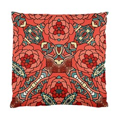 Petals In Pale Rose, Bold Flower Design Standard Cushion Case (two Sides) by Zandiepants