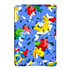 Rectangles Mix                          			apple Ipad Mini Hardshell Case (compatible With Smart Cover) by LalyLauraFLM