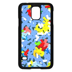 Rectangles Mix                          			samsung Galaxy S5 Case (black)