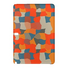 Retro Colors Distorted Shapes                           			samsung Galaxy Tab Pro 10 1 Hardshell Case by LalyLauraFLM