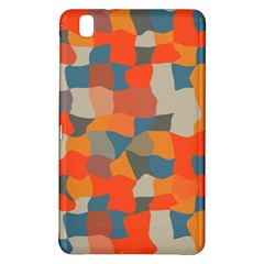 Retro Colors Distorted Shapes                           			samsung Galaxy Tab Pro 8 4 Hardshell Case by LalyLauraFLM