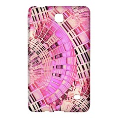 Pretty Pink Circles Curves Pattern Samsung Galaxy Tab 4 (7 ) Hardshell Case  by CrypticFragmentsDesign