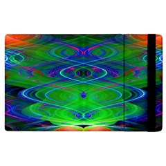 Neon Night Dance Party Apple Ipad 3/4 Flip Case by CrypticFragmentsDesign