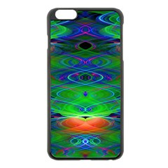 Neon Night Dance Party Apple Iphone 6 Plus/6s Plus Black Enamel Case by CrypticFragmentsDesign