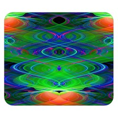 Neon Night Dance Party Double Sided Flano Blanket (small)  by CrypticFragmentsDesign