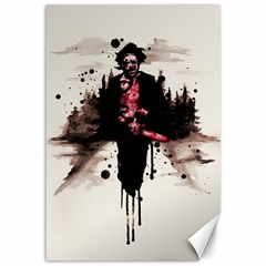 Leatherface 1974 Canvas 12  X 18   by lvbart