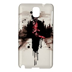 Leatherface 1974 Samsung Galaxy Note 3 N9005 Hardshell Case by lvbart