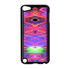 Neon Night Dance Party Pink Purple Apple Ipod Touch 5 Case (black) by CrypticFragmentsDesign