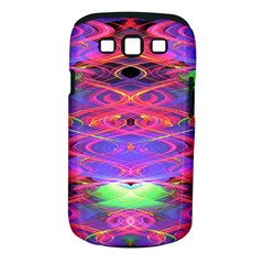 Neon Night Dance Party Pink Purple Samsung Galaxy S Iii Classic Hardshell Case (pc+silicone) by CrypticFragmentsDesign