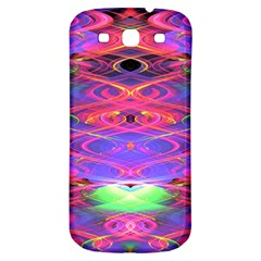 Neon Night Dance Party Pink Purple Samsung Galaxy S3 S Iii Classic Hardshell Back Case by CrypticFragmentsDesign