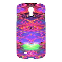 Neon Night Dance Party Pink Purple Samsung Galaxy S4 I9500/i9505 Hardshell Case by CrypticFragmentsDesign