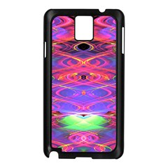 Neon Night Dance Party Pink Purple Samsung Galaxy Note 3 N9005 Case (black) by CrypticFragmentsDesign