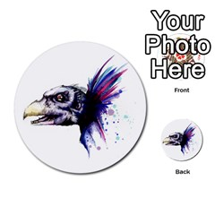 Skeksis Multi Purpose Cards (round)