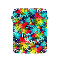 Watercolor Tropical Leaves Pattern Apple Ipad 2/3/4 Protective Soft Cases by TastefulDesigns