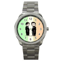 Plushie Saints 2 0 Sport Metal Watch by lvbart