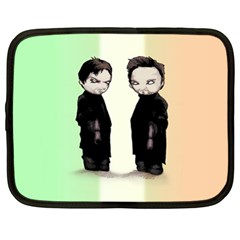 Plushie Saints 2 0 Netbook Case (xl)  by lvbart