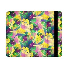 Tropical Flowers And Leaves Background Samsung Galaxy Tab Pro 8 4  Flip Case by TastefulDesigns