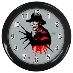The Groundskeeper Wall Clocks (black) by lvbart