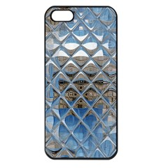 Mirrored Glass Tile Urban Industrial Apple Iphone 5 Seamless Case (black) by CrypticFragmentsDesign