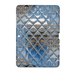 Mirrored Glass Tile Urban Industrial Samsung Galaxy Tab 2 (10 1 ) P5100 Hardshell Case