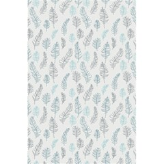 Whimsical Feather Pattern Dusk Blue 5 5  X 8 5  Notebook by Zandiepants