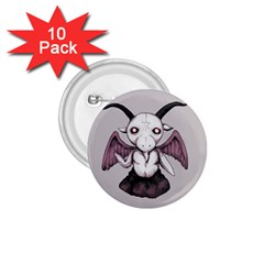 Plushie Baphomet 1 75  Buttons (10 Pack) by lvbart