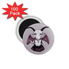 Plushie Baphomet 1 75  Magnets (100 Pack)  by lvbart
