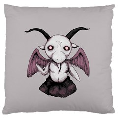 Plushie Baphomet Standard Flano Cushion Case (one Side) by lvbart