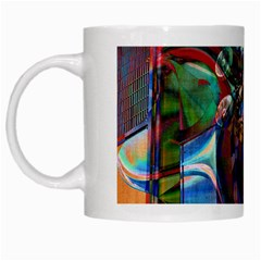 Las Vegas Nevada Ghosts White Mugs by CrypticFragmentsDesign