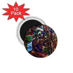 Las Vegas Nevada Ghosts 1 75  Magnets (10 Pack)  by CrypticFragmentsDesign